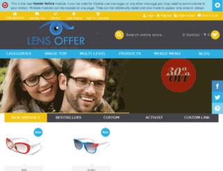 lensoffer.com screenshot