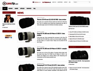 lenstip.com screenshot
