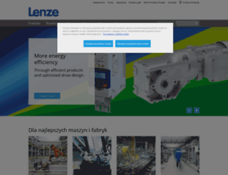 lenze.pl screenshot