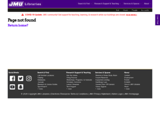 leo.jmu.edu screenshot