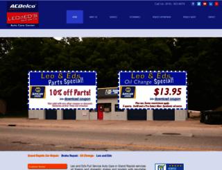 leoandeds.com screenshot
