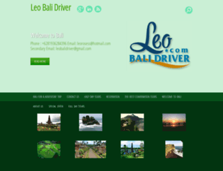 leobalidriver.com screenshot