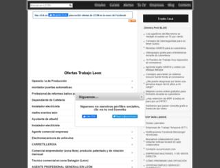 leon.sucurriculum.com screenshot