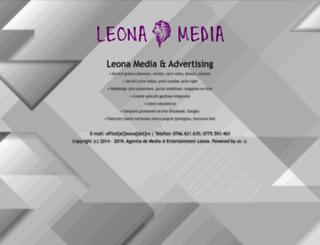 leona.ro screenshot