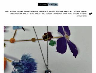 leonardjewelry.com screenshot