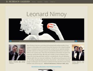 leonardnimoyphotography.com screenshot