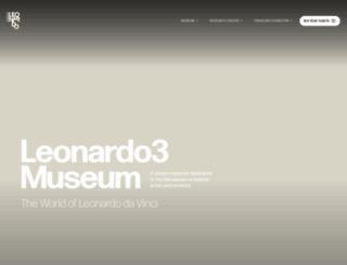 leonardo3.net screenshot