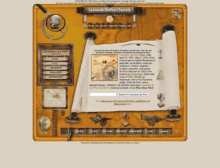leonardodavincisecrets.com screenshot