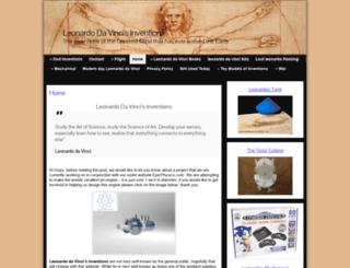 leonardodavincisinventions.com screenshot