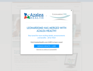 leonardomd.com screenshot