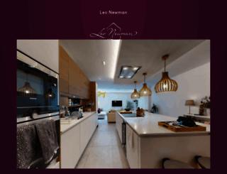 leonewman.co.uk screenshot