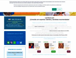 leotarot.com screenshot