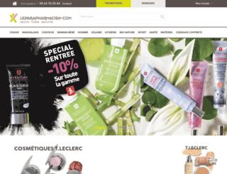leparapharmacien.com screenshot