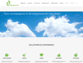 lepartenariat.com screenshot