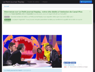 lepetitjournalreplay.com screenshot