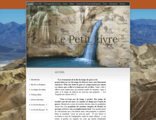 lepetitlivre.org screenshot