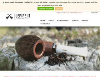 lepipe.it screenshot