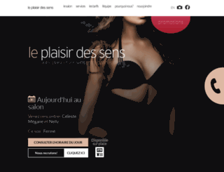 leplaisirdessens.ca screenshot