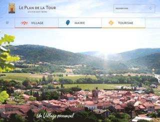 leplandelatour.fr screenshot