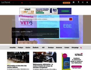 lepointveterinaire.fr screenshot