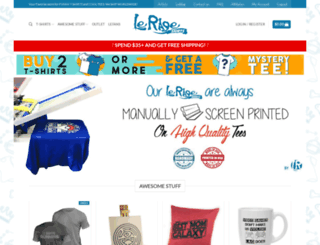 lerageshirts.com screenshot