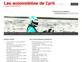 les-automobiles-de-cyril.fr screenshot