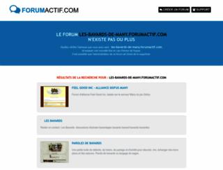 les-bavards-de-many.forumactif.com screenshot