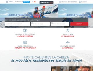 les-carroz.skimium.es screenshot