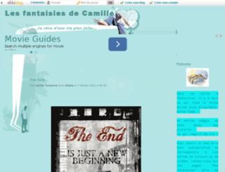 les-fantasmes-de-camille.eklablog.com screenshot