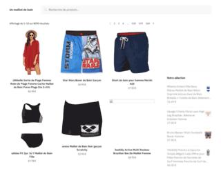 les-maillots-de-bain.com screenshot