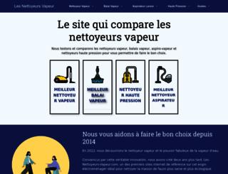 les-nettoyeurs-vapeur.com screenshot