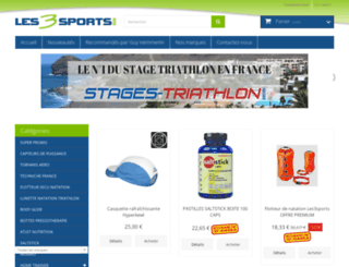les3sports.com screenshot