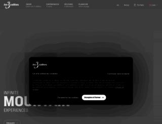 les3vallees.com screenshot