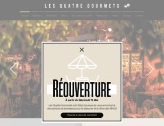 les4gourmets.com screenshot
