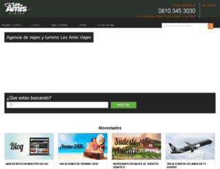 lesamis.com.ar screenshot