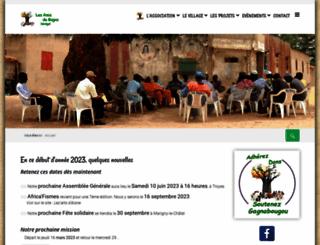 lesamisdegagna-senegal.org screenshot