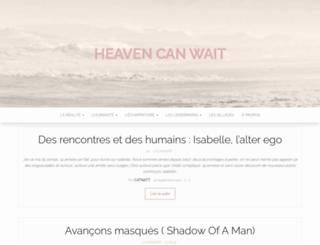 lesanneesje.heavencanwait.fr screenshot