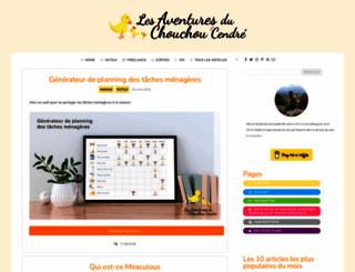 lesaventuresduchouchou.com screenshot