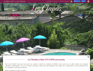 lesclapas.com screenshot