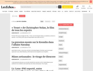 lesechospedia.lesechos.fr screenshot