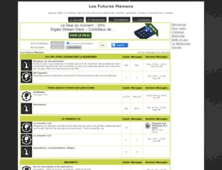 lesfuturesmamans.net screenshot
