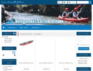 lesgonflables.com screenshot