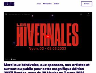 leshivernales.ch screenshot