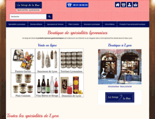 lesiropdelarue.com screenshot