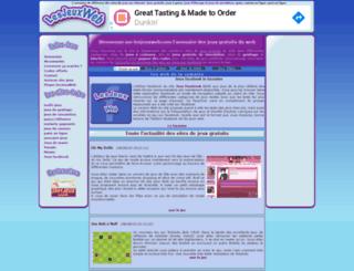 lesjeuxweb.com screenshot