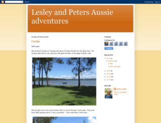 lesleyandpeterjendra.blogspot.com.au screenshot