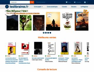 leslibraires.fr screenshot