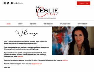 lesliecarr.com screenshot
