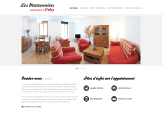 lesmarronniers-orbey.fr screenshot