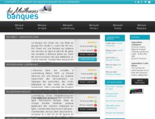 lesmeilleuresbanques.com screenshot